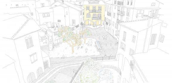 Projet d'aménagement des places du Vieux Tende