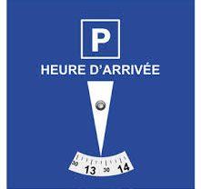 Disque de stationnement
